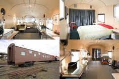 This rail car home in Portland was created from a 1949 Portland sleeper car. It's a surprising roomy at 807 square feet and 10 foot ceilings. Did I mention it's for sale? See the price after the jump.