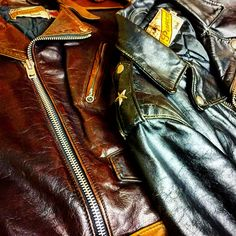 Riders Jacket, Cool Jackets, Leather Jackets, Diy Clothes, Black Leather, Mens Fashion, David, Outfits, Brown
