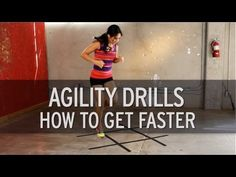 Fitness - Agility Drills: How to Get Faster - How To Tube