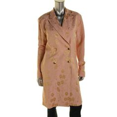 Tome Womens Brocade Shimmer Coat