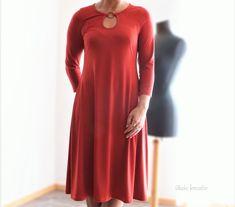 Shirt/Kleid+Samba+von+Schnittmusterlounge Samba, Shirts, Dresses With Sleeves, Long Sleeve, Fashion, Sew Mama Sew, Knitting And Crocheting, Sewing Patterns, Creative