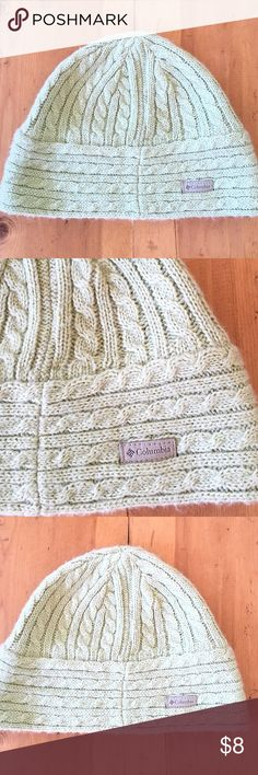Columbia Womens Knit Hat Excellent condition great color great company women one size fits all Columbia Accessories Hats