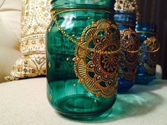 ON SALE Bohemian Lantern Moroccan Home Decor Mason Jar