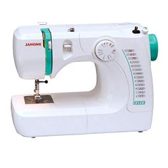 The Janome 3128 is a solid mini sewing machine.  Its straight forward approach makes for user-friendly, easy sewing.  The Janome 3128 is recommended for beginner, on-the-go, crafting, quilting, college student or light sewing.