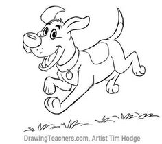 Comment dessiner un chien Cartoon ?