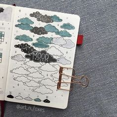 24 Best Bullet Journal Mood Tracker For Inspiration - The Creatives Hour December Bullet Journal, Bullet Journal Cover Page, Bullet Journal Hacks, Bullet Journal Notebook, Bullet Journal Spread, Bullet Journal Ideas Pages, Bullet Journal Layout, Bullet Journal Inspiration, Bullet Journal Mood Tracker Ideas