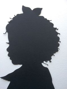 Custom Silhouette Picture - Silhouette Cameo - Child Silhouette Portrait - 5 x 7 Art - Portrait Paper Cutout - Family Keepsake Gift for Mom