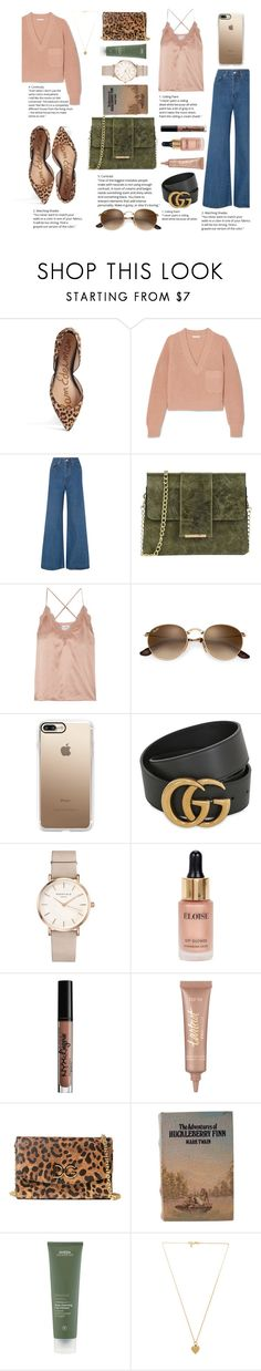 """""""pastel sweater"""" by veronika-vicenova ❤ liked on Polyvore featuring Sam Edelman, Chloé, Solace, Tuscany Leather, Cami NYC, Casetify, Gucci, ROSEFIELD, Eloise and Charlotte Russe"""