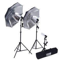 Black and Silver Photography Video Studio Umbrella Continuous Lighting Kit SALE Video Photography, Light Photography, Fashion Photography, Photography Props, Portrait Studio, Photo Portrait, Photo Art, Photo Studio Lighting, Photography Studio Lighting