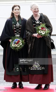 June 21, 2005--Queen Margrethe Ii, Prince Henrik, Crown Prince Frederik & Crown Princess Mary Of Denmark'S Four-Day Visit To The Faroe Islands.Visit To The Island Of Suouroy.
