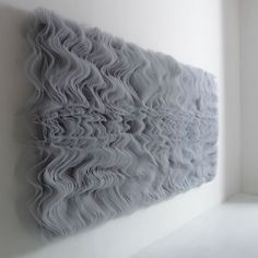 Vapori (wood + tulle), Maurizio Galante, 2007.
