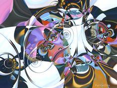 """Stompin' at the Savoy"" 3d fractal art Mandelbulb 3d Paul Griffitts www.frackxion.com"