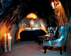 In Sweeden 150 meters below ground, you can find a single hotel room. Bucketlist it is :)