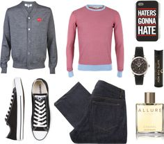 """""""Casual and Handsome Man"""" by caseyloves on Polyvore"""