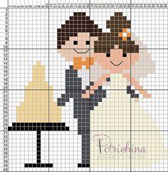 Brilliant Cross Stitch Embroidery Tips Ideas. Mesmerizing Cross Stitch Embroidery Tips Ideas. Cross Stitch Family, Mini Cross Stitch, Cross Stitch Cards, Cross Stitching, Cross Stitch Embroidery, Cross Stitch Patterns, Cross Pictures, Pixel Crochet, Wedding Cross Stitch