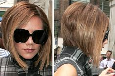 Victoria Beckham, love her hair! Popular Short Hairstyles, Short Bob Hairstyles, Cool Hairstyles, Victoria Beckham Short Hair, Victoria Beckham Hairstyles, Short Hair Cuts, Short Hair Styles, Blonder Bob, Haircut And Color