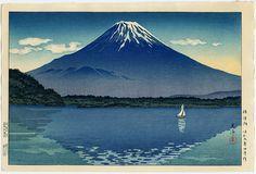 Woodblock Tsuchiya Koitsu 1948