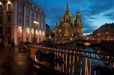 Catedral de la Sangre Derramada de San Petersburgo.