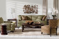 ethanallen.com - Explorer Bronze Living Room | Express | Ethan Allen | furniture | interior design