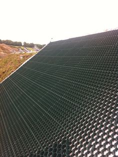 The Sky Garden soil retention system allows us to install green roofs on any pitch roof.