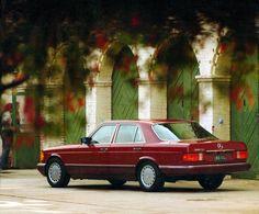 1991 Mercedes-Benz 300 SE North America (W126)