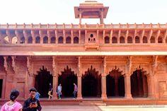 interior do Jahangiri Palace