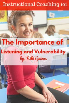 I am often asked how it is that I am able to get invited into so many classes to teach math lessons. I believe it is for two reasons: vulnerability and listening.  As a math coach, my willingness to make myself vulnerable has opened doors for me, literally.   The craft of teaching, and our connections with our own students, are so personal that trust is paramount when building relationships with coaches.