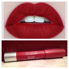 Mmm idk, i have this and my lips so t get that matte when wearing it... ❤ || Get Matte Red Lips for a cheap price! Revlon Colorburst Matte Lip Balm only $6.48