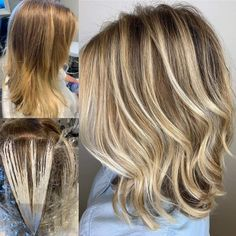 Our  #handpainted #haircolour inspo. We have salon Educators! Who are excellent at choosing your hair colours #balyage #babylights #freelights #highlights #haircolour