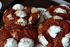 Čokoládové cookies KRAVIČKA - fotopostup