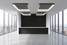 Innovative, architectural square LED luminaire with acoustical felt for sound control. Available in several colors #integratedlighting #acousticcontrol #sounddampening #architecturallighting #LEDlighting #blackandwhitearchitecture