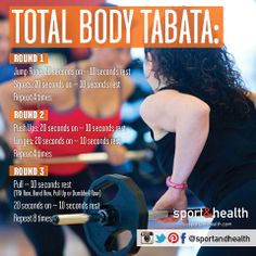 Get a great total body workout in just 12 minutes! Get more fitness tips at http://www.sportandhealth.com