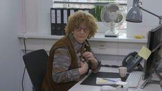 As an #officeworker in a #Dutch #music #video #clip