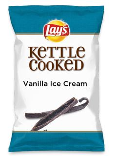Wouldn't Vanilla Ice Cream be yummy as a chip? Lay's Do Us A Flavor is back, and the search is on for the yummiest chip idea. Create one using your favorite flavors from around the country and you could win $1 million! https://www.dousaflavor.com See Rules.