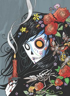 Her day is coming... #ghostgirl Day of the Dead. New book coming FALL 2013