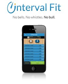 Interval Fit- Available for Apple and Android devices