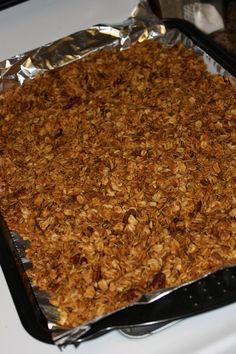 I'm on a quest for the perfect homemade granola and this crockpot granola recipe just may be the one ...