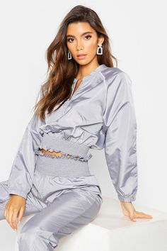 Home - Spot Pop Fashion Shell Suit, Pop Fashion, Womens Fashion, Latest Tops, Poses, Boohoo, Off The Shoulder, Sexy Women, Suits