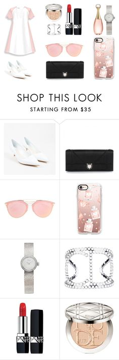 """DIOR story"" by maiamlerou on Polyvore featuring mode, Christian Dior et Casetify"