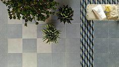 https://tile.expert/img_lb/Mutina/Azulej/per_sito/ambienti/Azulej-Mutina-8.jpg , Kitchen, Living room, Public spaces, Bathroom, Patchwork style, Designer style, Patricia Urquiola, Concrete effect, Porcelain stoneware, wall & floor, Matte, Non-rectified