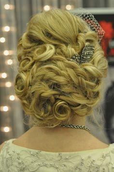 bridal up style Up Styles, Hair Art, Bridal Hair, Wedding Hairs, Hairdo Wedding, Bridal Hairstyles