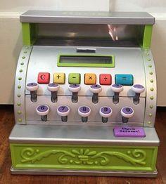 Parents by Battat Cash Register Solar Calculator Vintage Replica | eBay