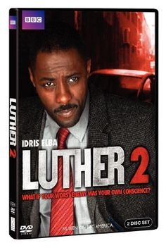 "DCI John Luther in ""Luther"" played by Idris Elba...almost time for Series 3 to air on BBC America!"