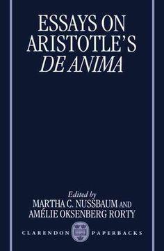Essays on Aristotle's De Anima