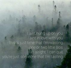 """Relapse"" lyrics by Carrie Underwood."