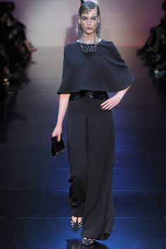 Armani Privé Fall 2012 Couture Collection Slideshow on Style.com