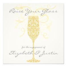 raise your glass invitation
