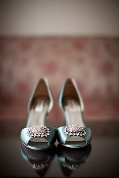 #blue #wedding #shoes