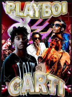 'Vintage Playboi Carti Illicit Epiphany' T-Shirt by illicitepiphany Arte Do Hip Hop, Hip Hop Art, Dope Cartoons, Dope Cartoon Art, Shirt Logo Design, Tee Design, Vintage Tees, Vintage Posters, Rap Wallpaper