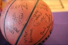 For a basketball themed birthday party have all the guests sign a basketball for the birthday boy or girl! Basketball Baby Shower, Basketball Birthday Parties, 13th Birthday Parties, Sports Birthday, Sports Party, 10th Birthday, Birthday Fun, Birthday Party Themes, Birthday Ideas